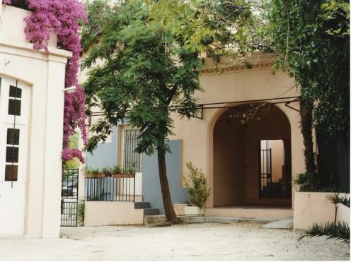 Cour de l'IME Henri Matisse