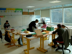 Une classe de l'IEM Rossetti