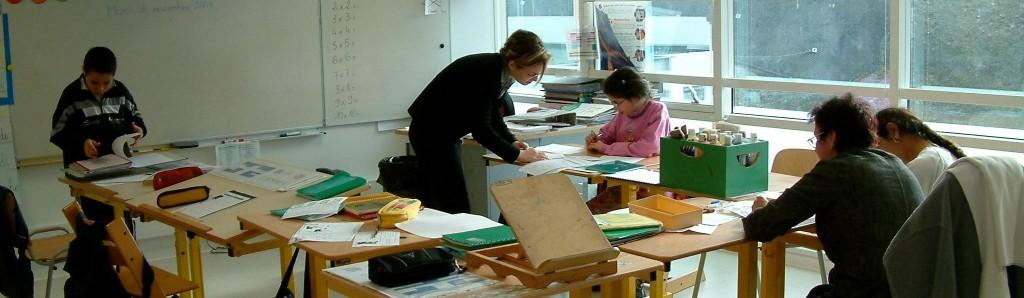 Une classe de l'IEM Rossetti (Bandeau)