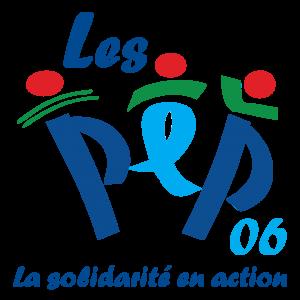 Logo des PEP 06 avec fond transparent