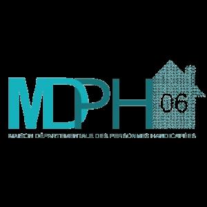Logo de la MDPH 06