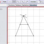 La géométrie dans le logiciel BOMEHC
