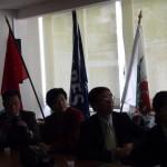 Réception de la délégation chinoise à l'IEM Rossetti