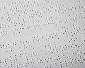 Exemple de page braille