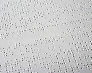 Exemple de page braille